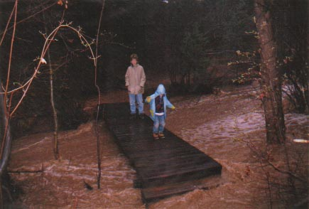 Sutherland Creek Bridge - Flood of 1999