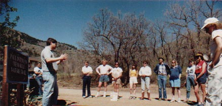 Crystal Park Road Trailhead Dedication - May 1991